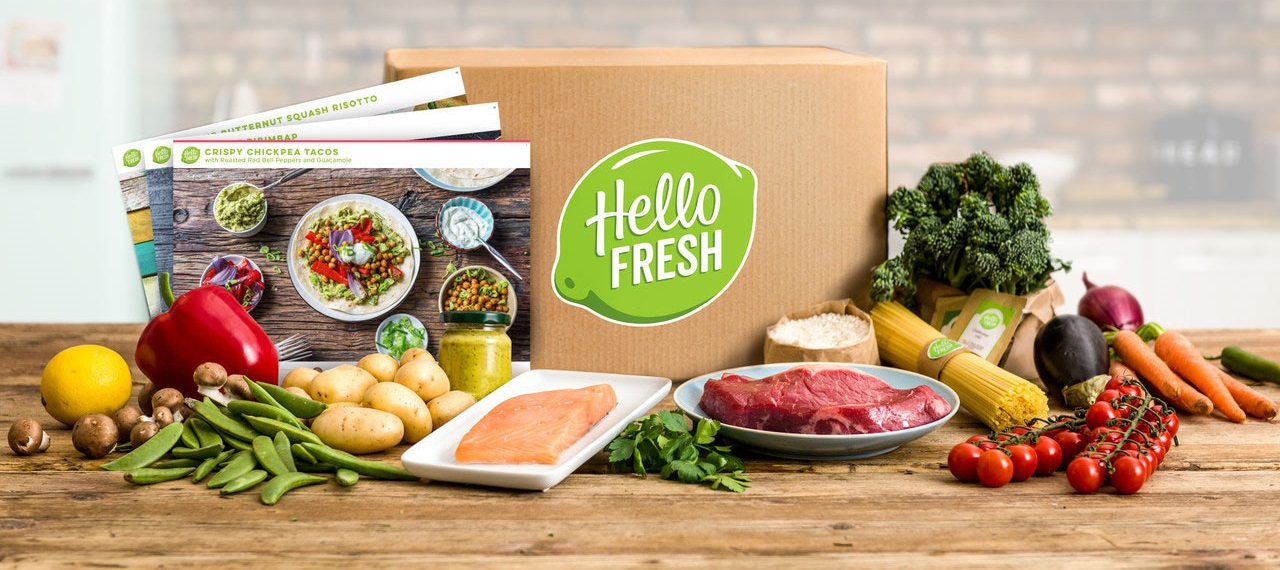 HelloFresh Promo Codes Banner